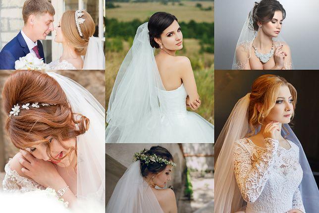 Fryzury ślubne Z Welonem Wp Kobieta