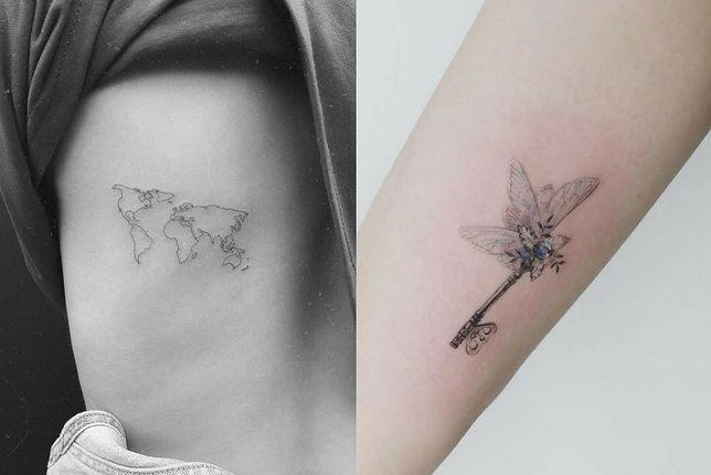 Małe Tatuaże Są Supermodne Wp Kobieta