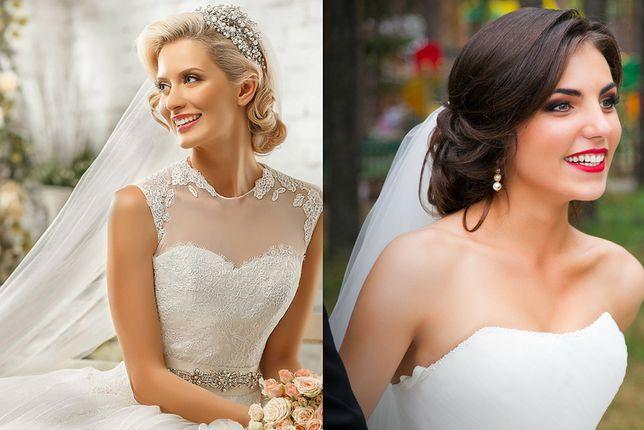 Fryzury ślubne Na Bok Z Welonem Wp Kobieta