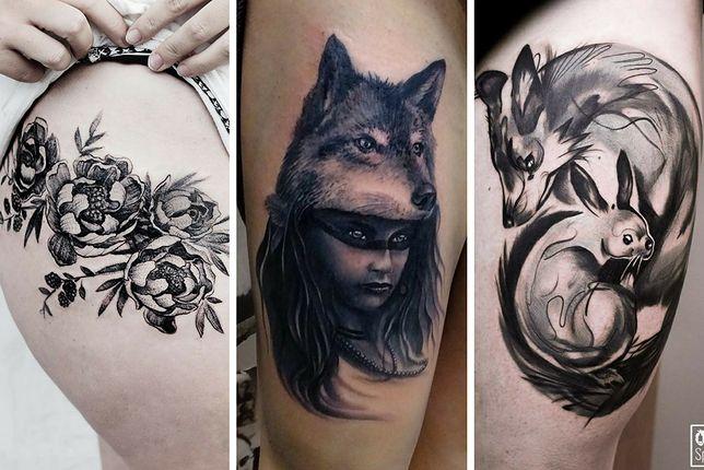 Tatuaże Damskie Na Udzie Wp Kobieta