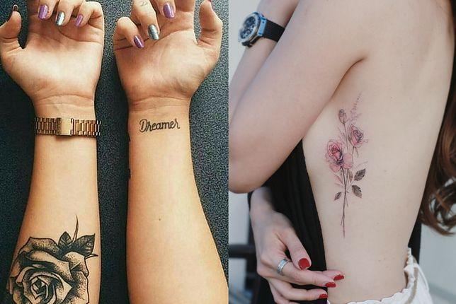 Tatuaż Kwiaty Dla Każdego Wp Kobieta