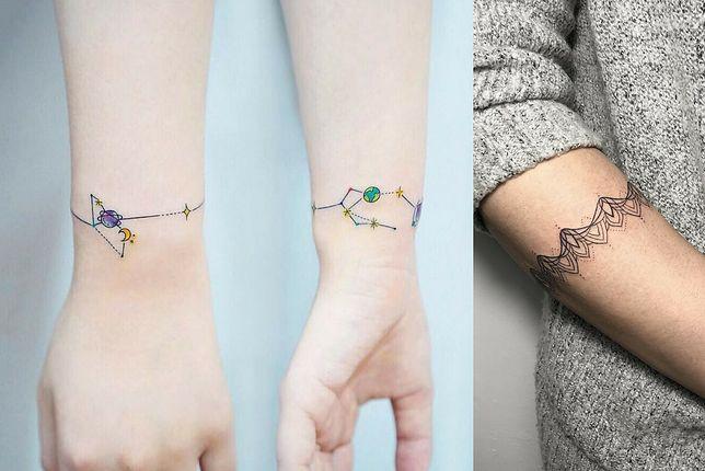 Tatuaż Bransoletka Dyskretny Urok Kobiecej Ręki Najlepsze