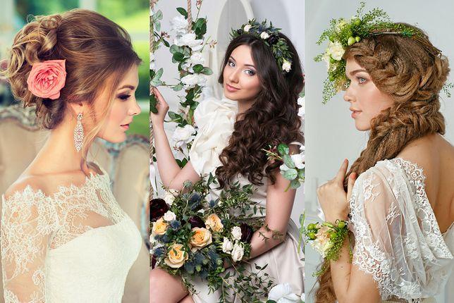 Fryzury ślubne Z Kwiatami Wp Kobieta