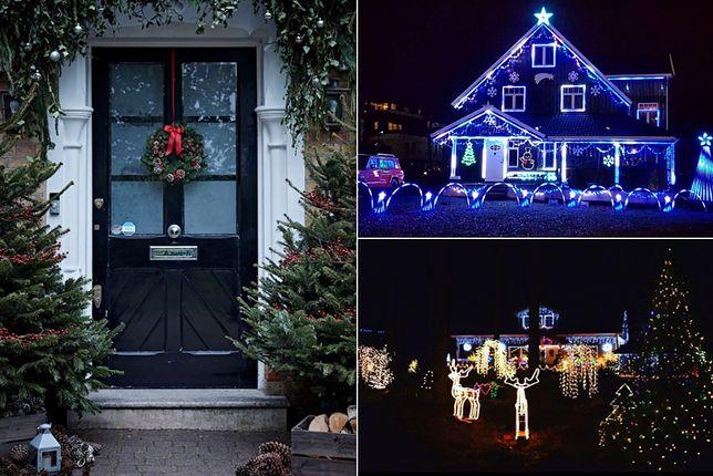 Dekoracja Domu Na Boże Narodzenie Na Zewnątrz Wp Kobieta