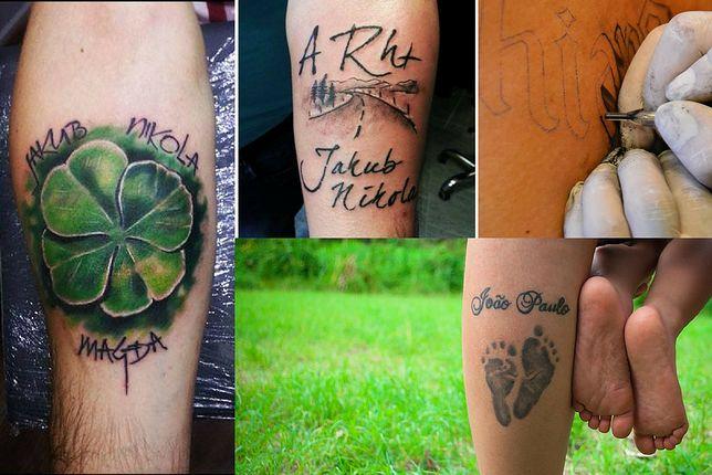Wzory Tatuaży Z Imionami Dzieci Wp Kobieta