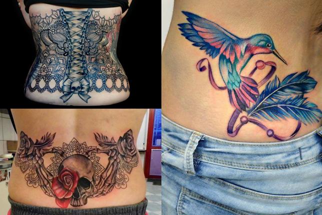 Tatuaże Damskie Na Plecach Wp Kobieta