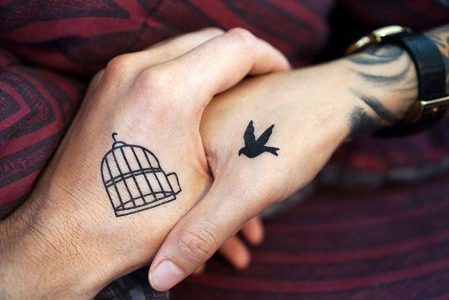 Tatuaż Serduszko Tatuaż Kwiatek Tatuaż Symbol
