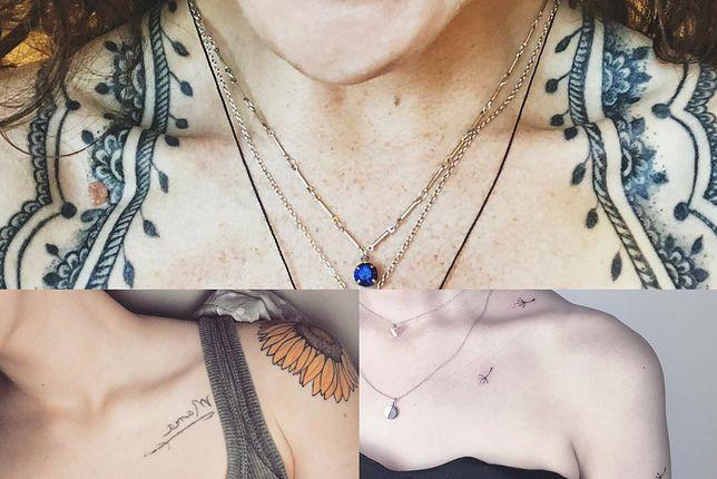 Tatuaż Na Obojczyku Kobiece I Dyskretne Wzory I Napisy Wp
