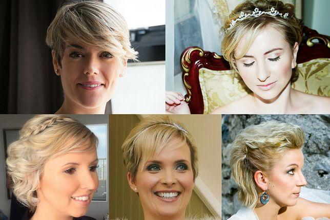 Fryzury ślubne Krótkie Włosy Z Grzywką Wp Kobieta