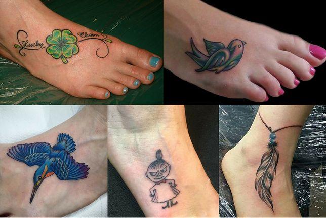 Tatuaże Damskie Na Stopie Wp Kobieta