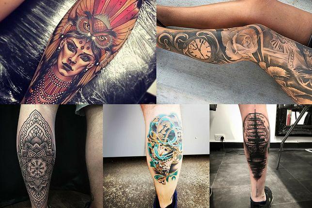 Wzory Tatuaży Na łydkę Wp Kobieta