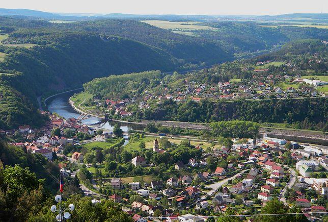 Malownicze okolice Wąwozu Homole w Szczawnicy