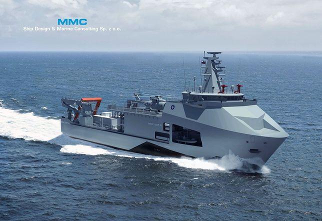1c0c263211950 Nowy okręt dla Marynarki Wojennej RP. Tak będzie wyglądać