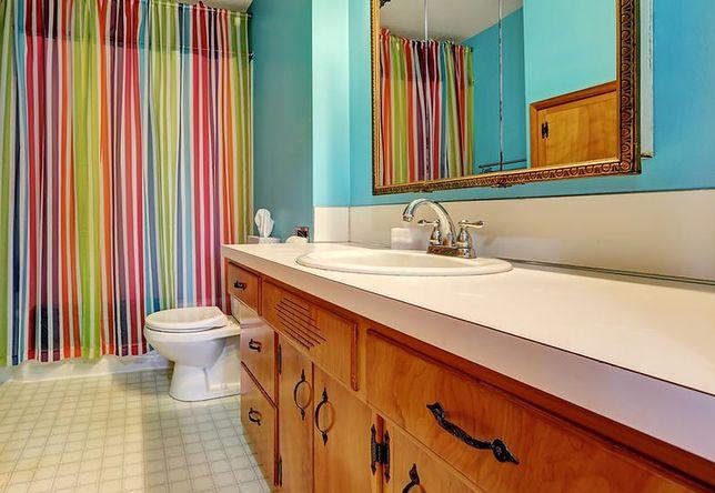 Zasłony Prysznicowe Niedrogi Pomysł Na Aranżację Małej
