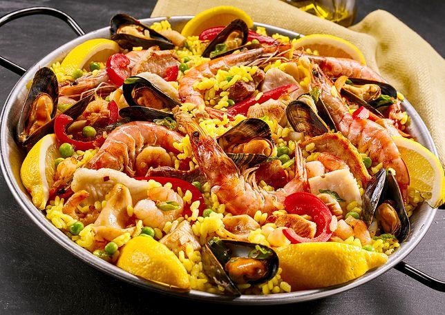 Paella Z Owocami Morza Przepis Wp Kuchnia