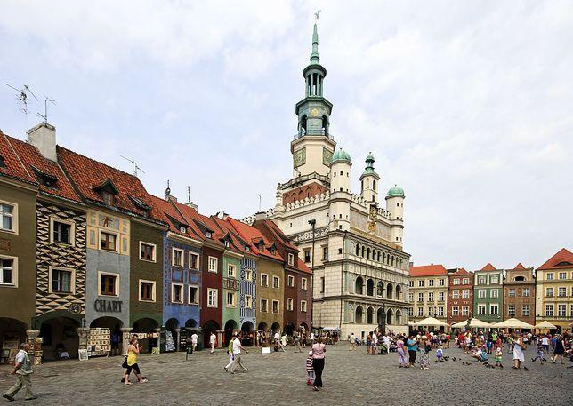 Renesansowy ratusz to prawdziwa ozdoba Starego Rynku w Poznaniu