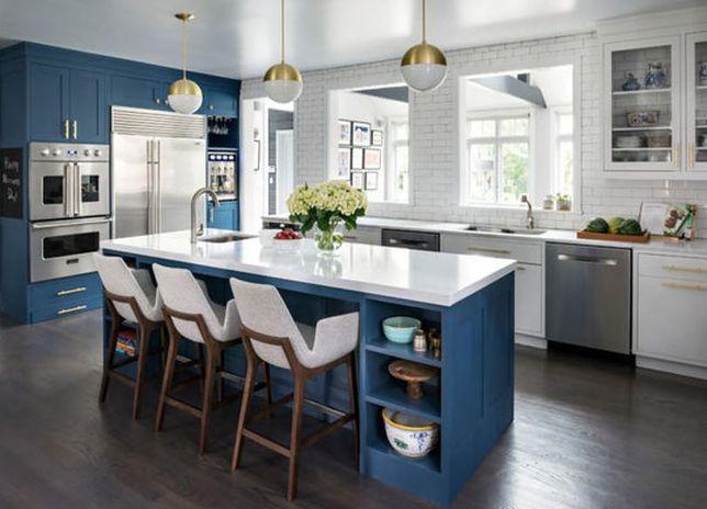 Połysk Czy Mat Kuchnie W Kolorze Blue Piękne Aranżacje