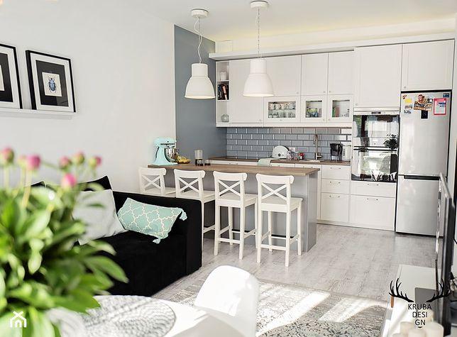 Kuchnia Otwarta Na Salon Najpiekniejsze Kuchnie W Skandynawskim