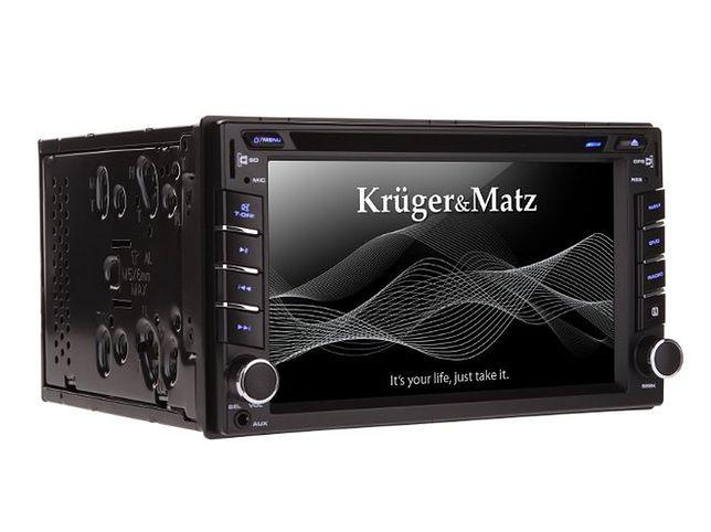 Krugermatz Km2001 Radio Samochodowe Z Nawigacją Telewizją I Gps