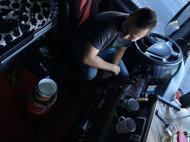 Spędziłem 3 Dni W Kabinie Tir A Praca Kierowców To Katorga