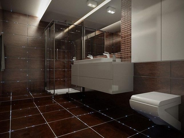 Led Y W łazience Niezwykłe Efekty Specjalne Wp Dom