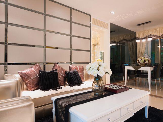 Styl Glamour We Wnętrzach Salon Sypialnia Kuchnia I