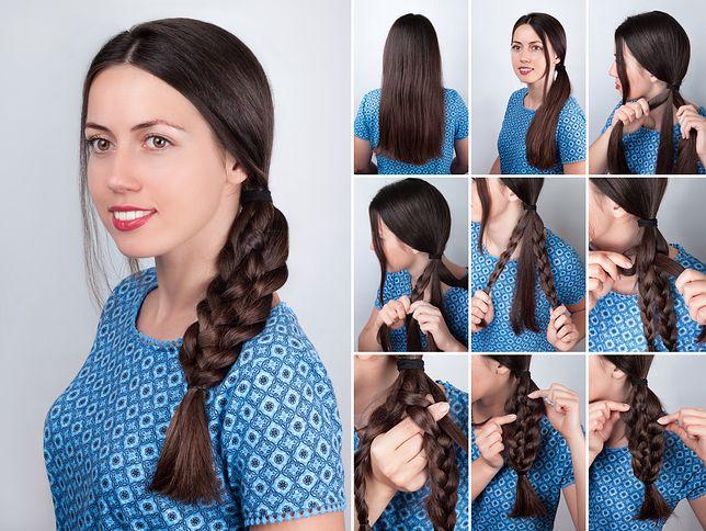 3438ddfc2a Szybkie fryzury do pracy dla kobiet o długich włosach - WP Kobieta