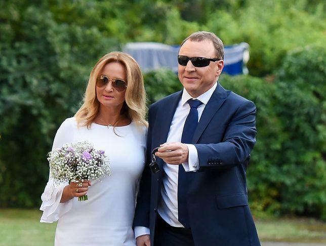 Jacek Kurski Ożenił Się Z Joanną Klimek Wzięli ślub Cywilny Wp