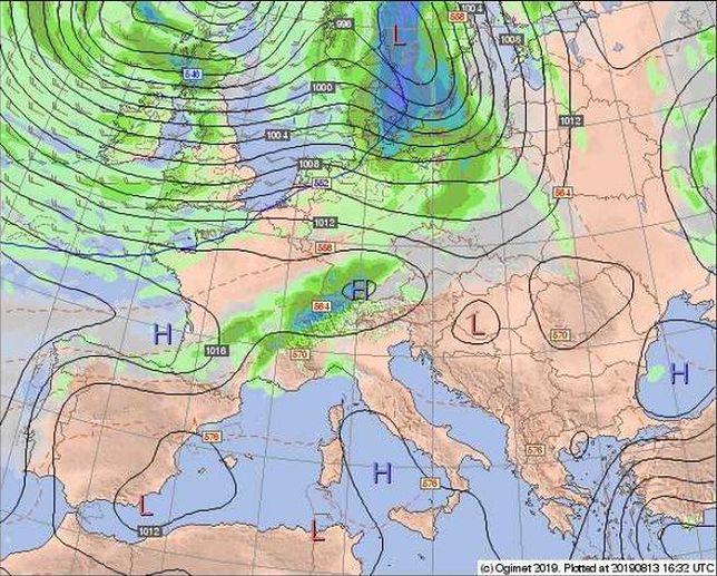 Pogoda  Długi weekend  Prognoza długoterminowa  Burza czy