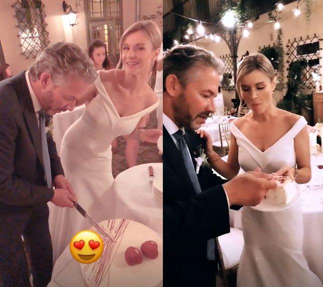 1fa4e6e2d1 Joanna Krupa i Douglas Nunes podczas przyjęcia weselnego