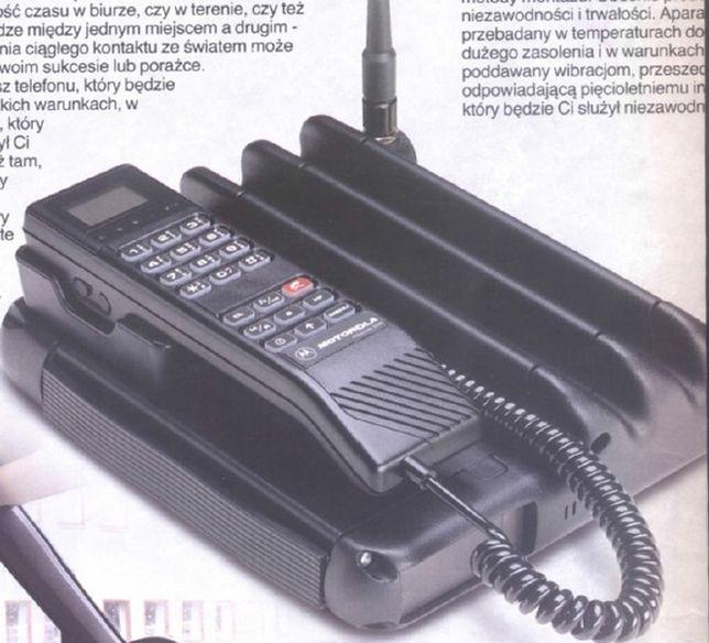 W Mega Motorola Associate 2000 - Pierwsze komórki w Polsce kosztowały 20 SY88