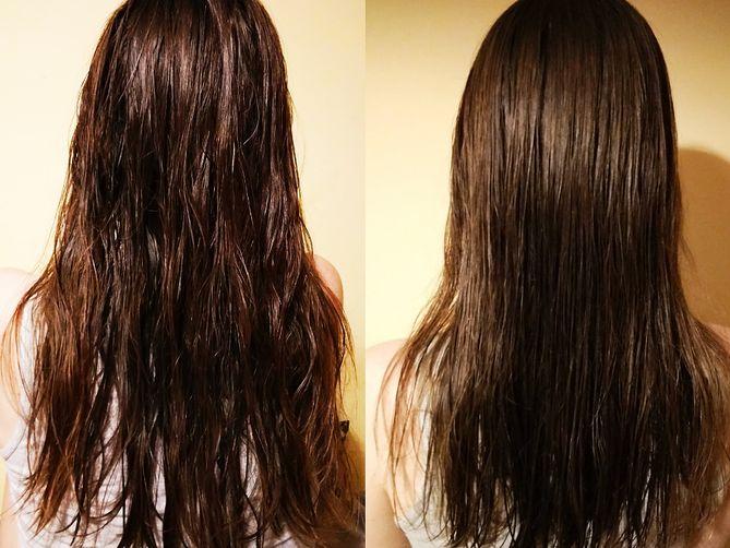 płukanka z octu jabłkowego na porost włosów