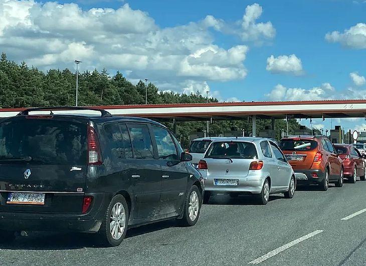 Korek na autostradzie A4 (zdjęcie poglądowe)