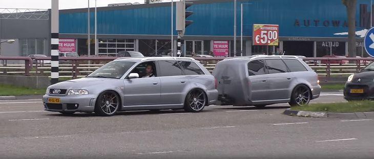 Audi RS4 Avant i pół Audi RS4 Avanta