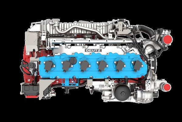 6-cylindrowy silnik generuje 200 kW
