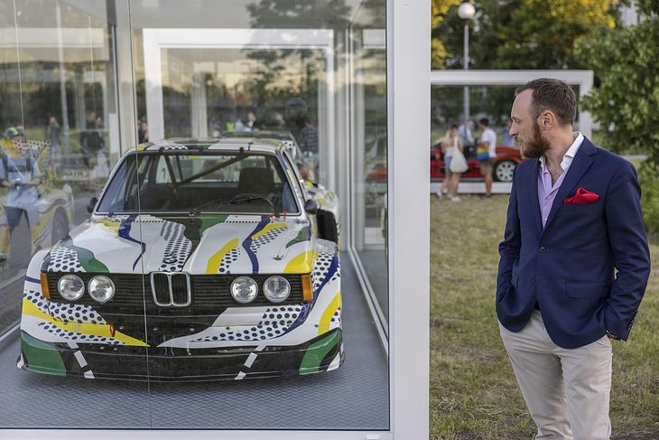 Autor tekstu i BMW z serii Art Car