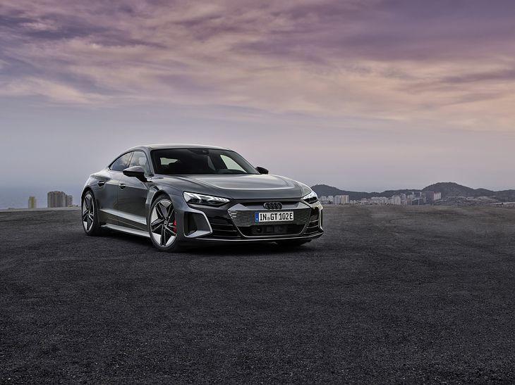 Audi e-tron GT to auto produkcyjne, ale wygląda jak koncept