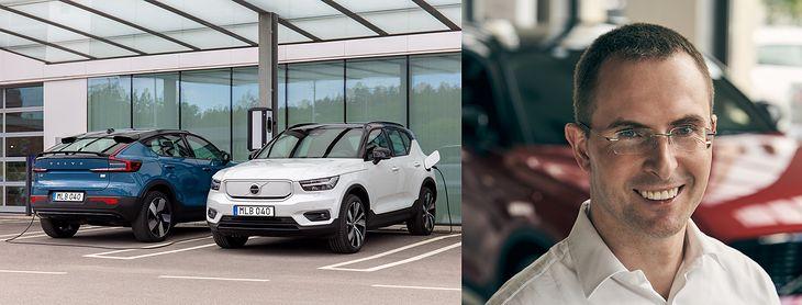 Emil Dembiński i nowe modele Volvo