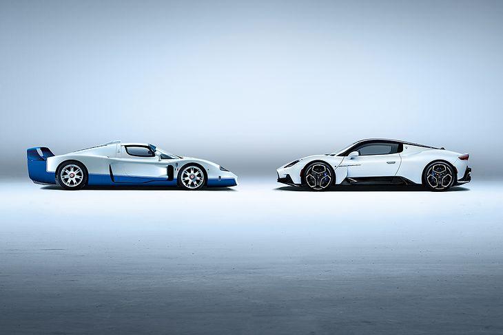 Maserati MC12 (2004) i MC20 (2020) (fot. Maserati)