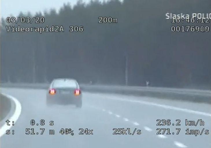 Kierowca BMW przekroczył prędkość o blisko 100 km/h