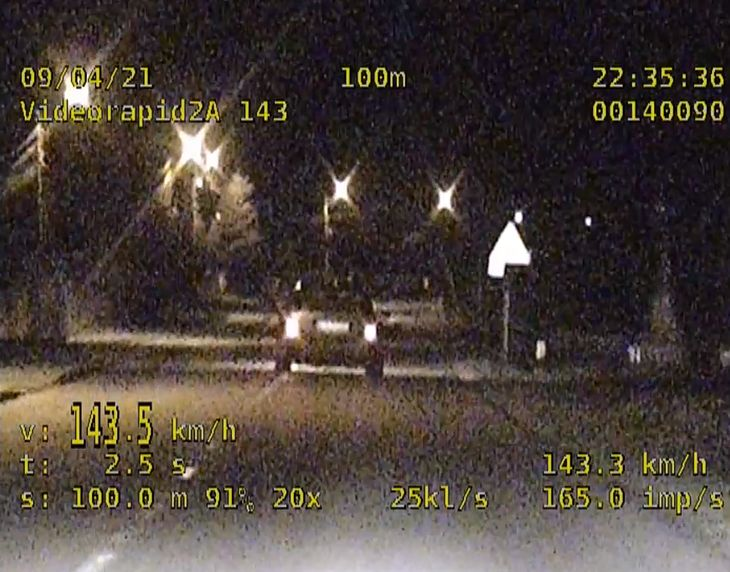"""Jeździ szybko, """"bo lubi"""". Policjantów jednak nie przekonał."""