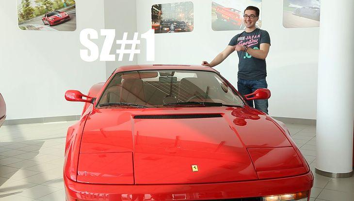 Wsiądź z nami do Ferrari Testarossy i zobacz czy naprawdę znasz się na samochodach