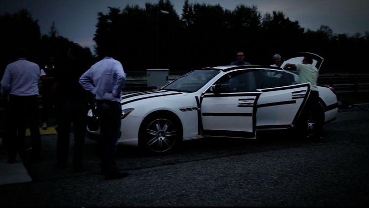 Testy nowego Maserati Quattroporte