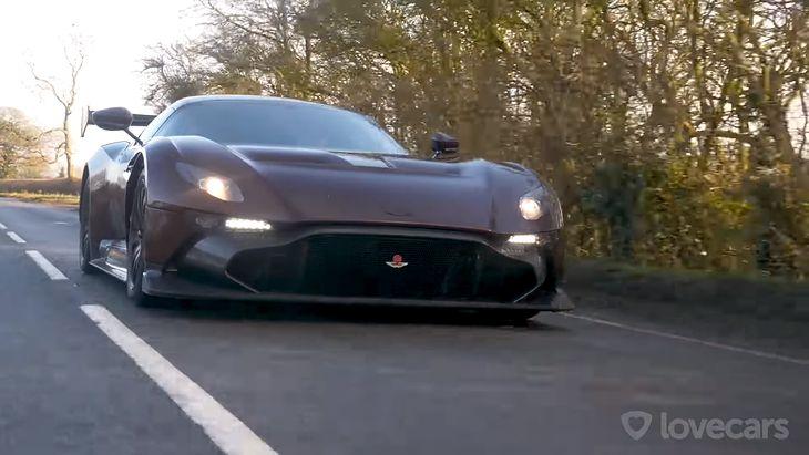 Aston Martin Vulcan nigdy nie miał wyjechać na drogi.