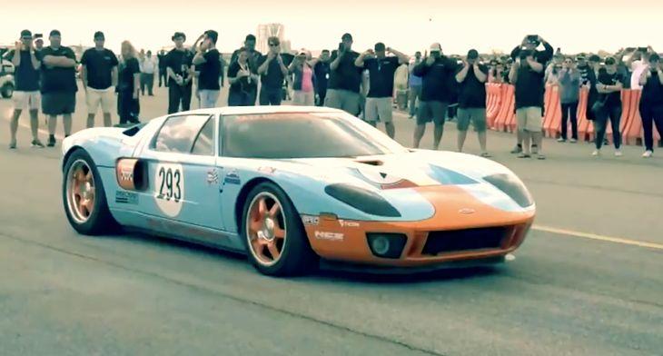 Z daleka wygląda jak zwykły ford GT, ale pod maską ma ponad 2000 KM