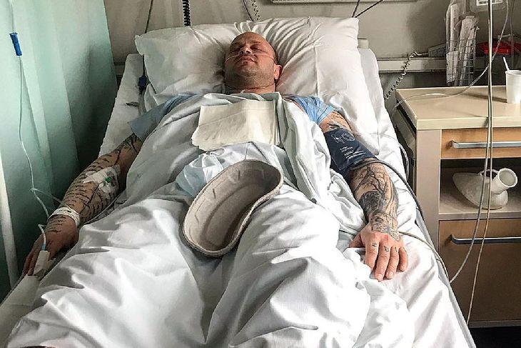 "Piotr ""Bestia"" Piechowiak w szpitalu"