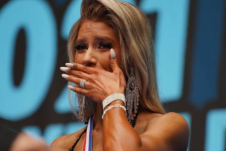 Joanna Tańska po zdobyciu tytułu mistrzyni Europy.