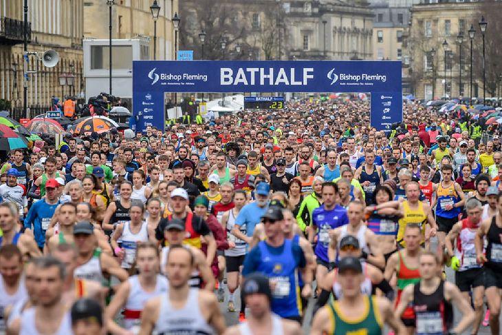 Półmaraton w Bath
