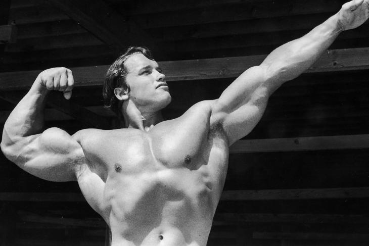 Arnold Schwarzenegger, zdjęcie z ok. 1966 roku.
