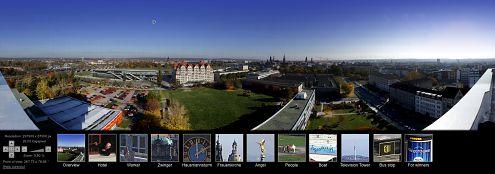 Panorama Drezna w 26 gigapikselach